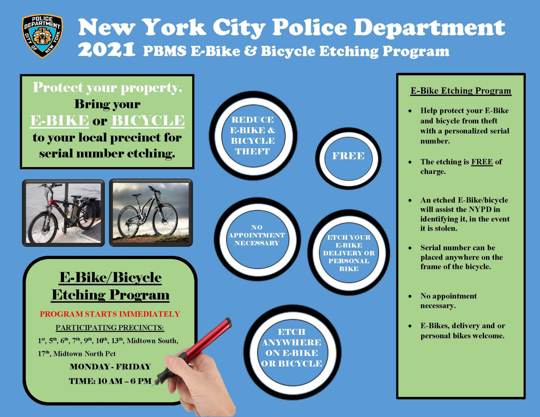 Banner Photo: E-BIKE AND BICYCLE REGISTRATION PROGRAM - MTN PRECINCT